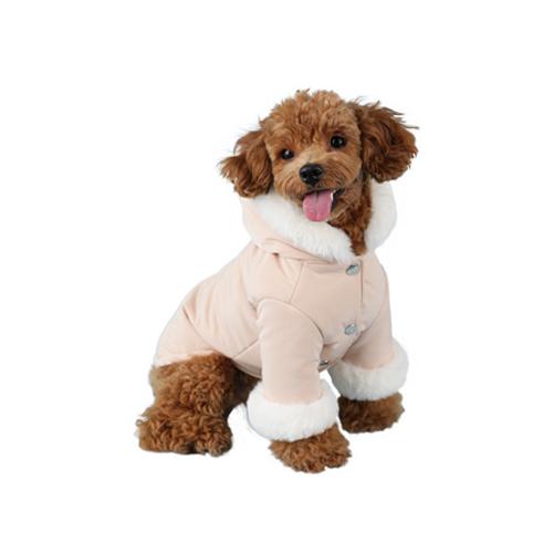 윙키뉴욕 강아지 윙블리 패딩, Beige