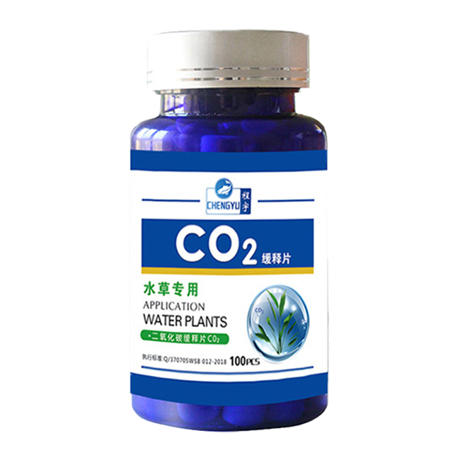 CHENGYU 수초용 정제형 이산화탄소 Co2 100p, 1개