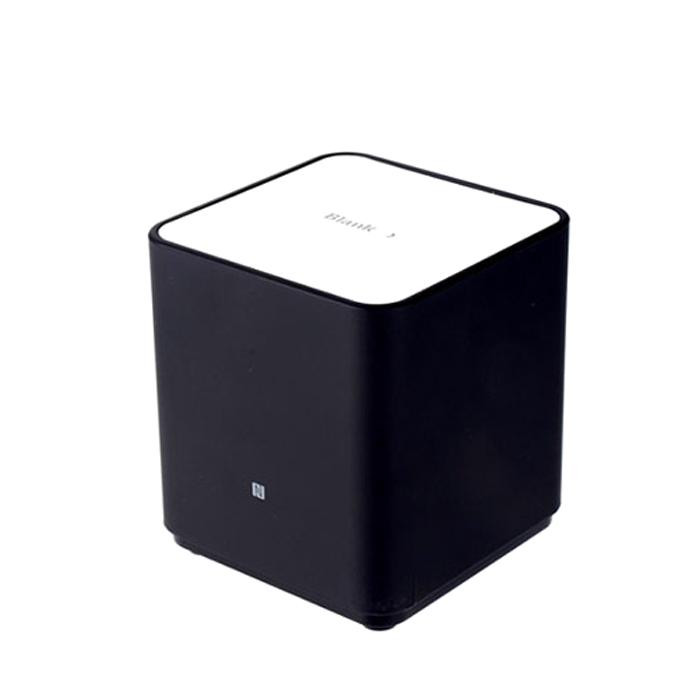 아이리버 블랭크 사운드 큐브 블루투스 스피커, BTS-Q1N, 클래식블랙