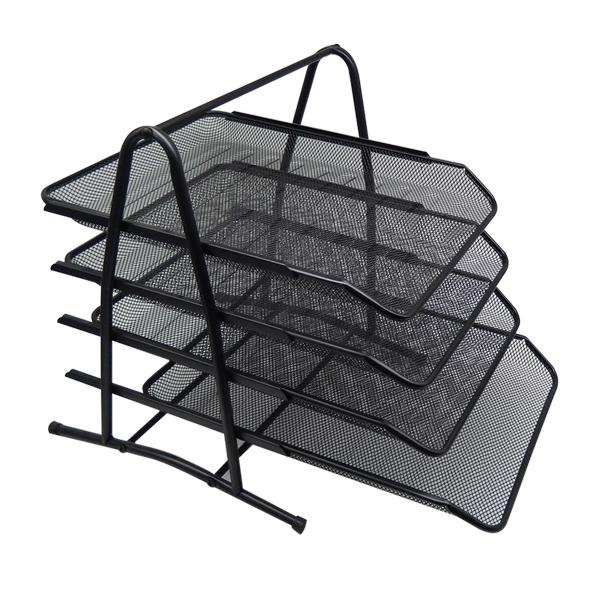 블루마토 DIY 스틸 4층 서류정리함 300 x 345 x 337 mm