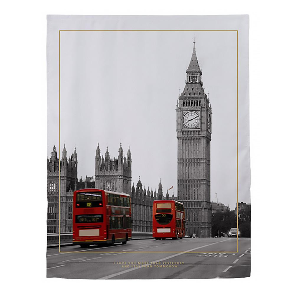 DM 알럽홈 인테리어 데코 벨크로 커튼, 런던