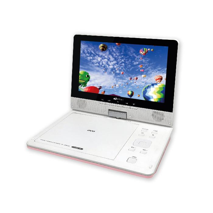 인비오 휴대용 DVD 플레이어, PD-2000HD(핑크)