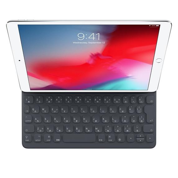 Apple 정품 iPad(7세대) 및 iPad Air(3세대)용 스마트 키보드 일본어, MPTL2CJ/A