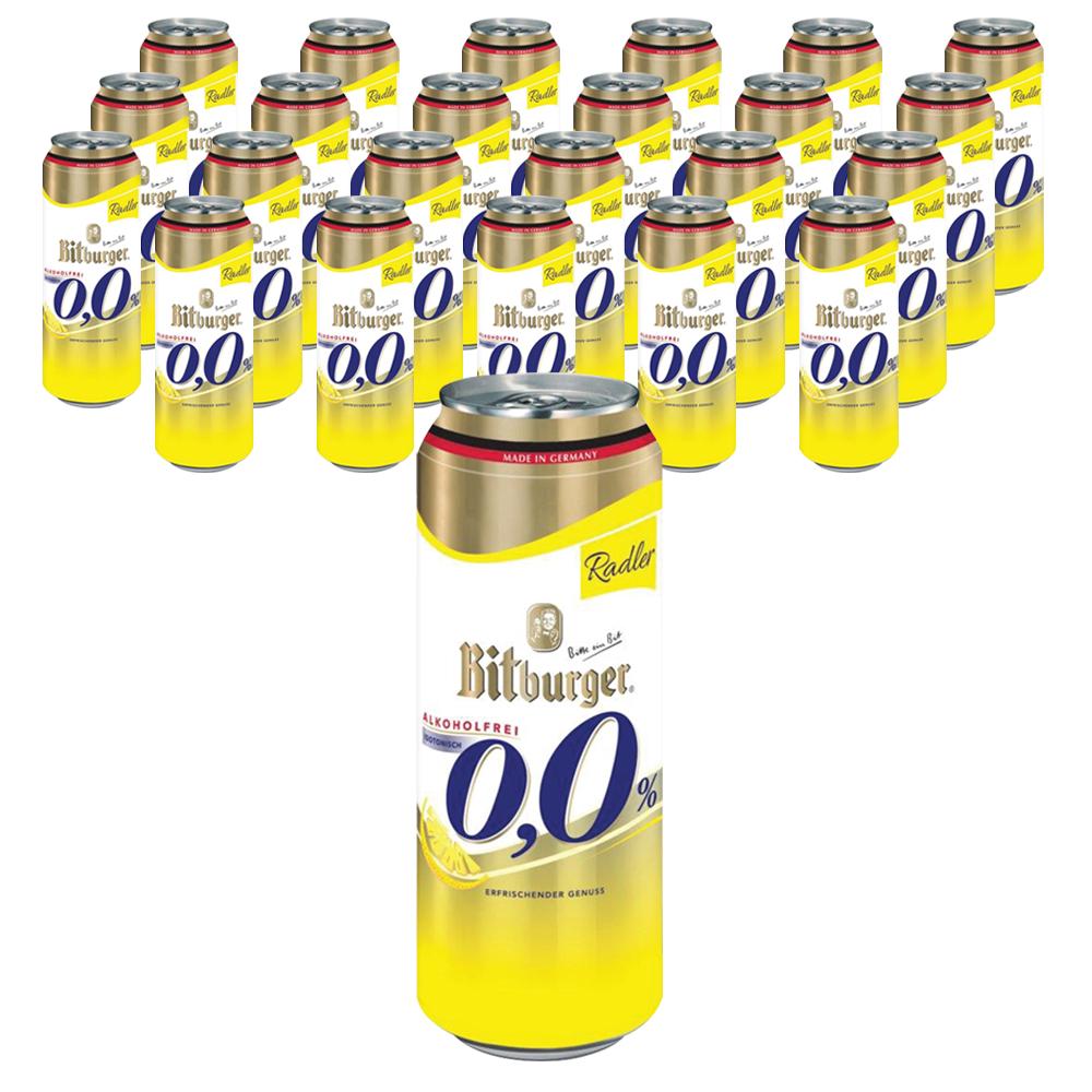 비트버거 레몬 무알콜 맥주, 500ml, 24개입