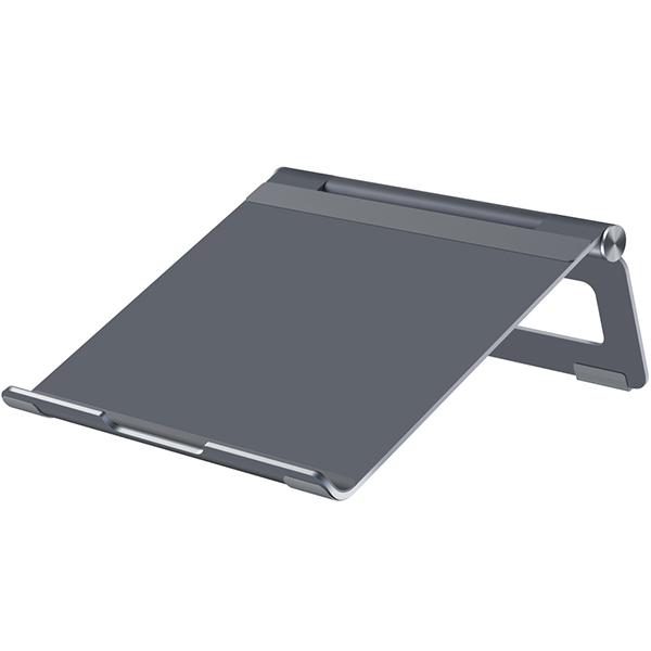 위시비 bstand L 노트북 접이식 스탠드, 스페이스그레이