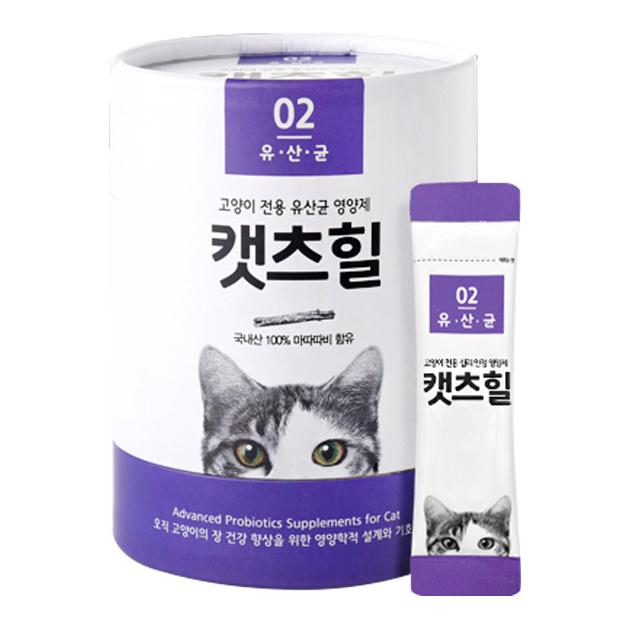 캣츠힐 유산균 고양이 영양제, 30개입