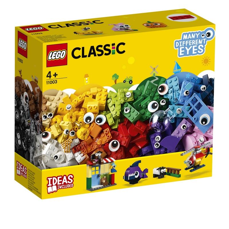 레고 클래식 브릭과 눈 완구 11003, 혼합 색상