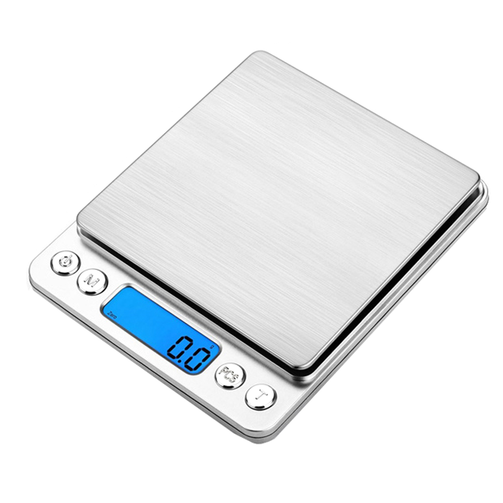 라온 가정용 주방 전자저울 1kg, I2000