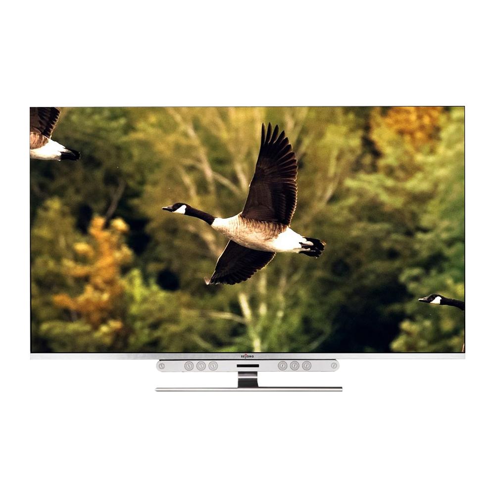 세종텔레콤 UHD 138.8cm 울트라슈퍼슬림 엑스 TV 자가설치, SEJONG-5500, 스탠드형