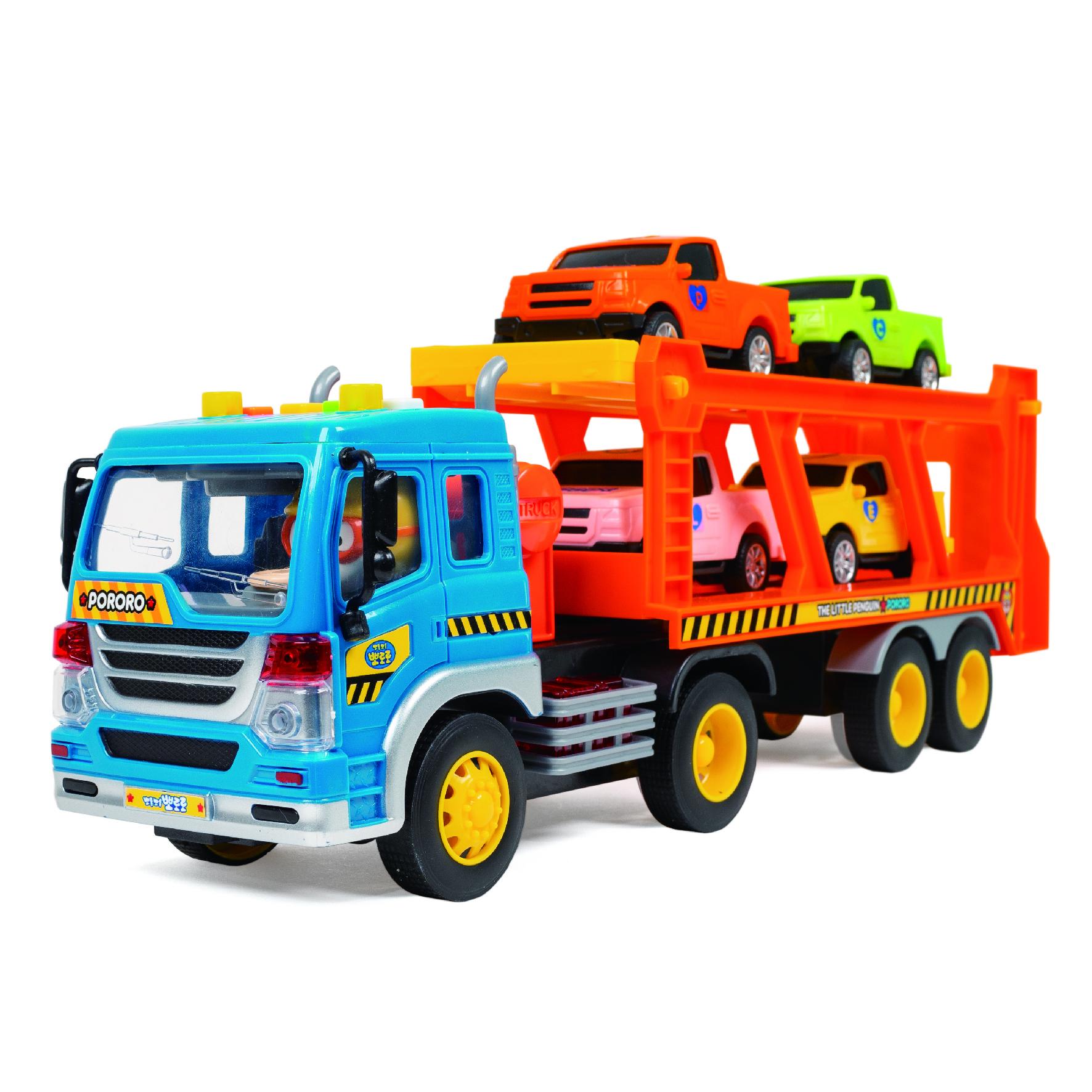 뽀로로 출동 트럭 캐리어카 혼합 색상