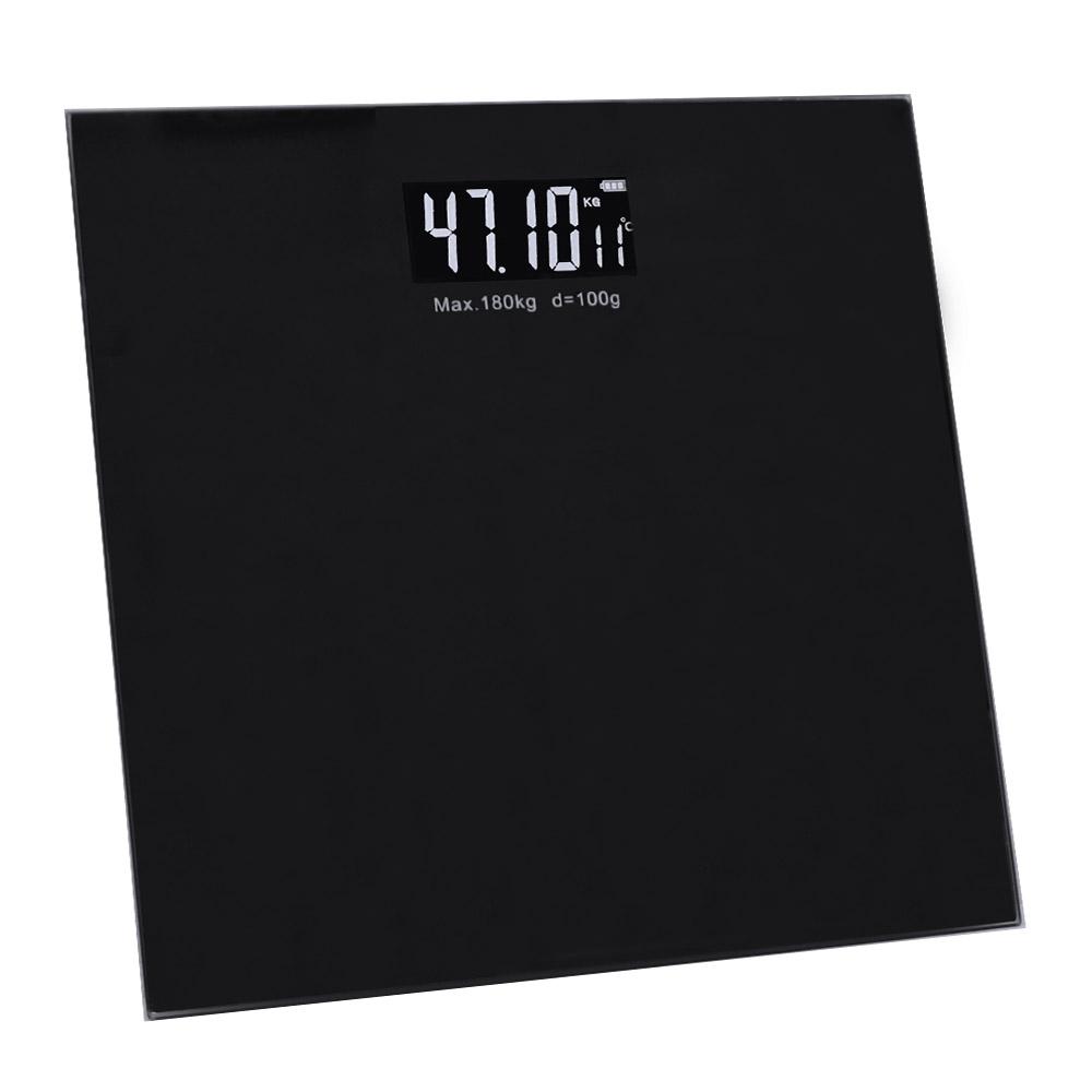 코시나 벨런스 디지털 체중계, 단일 상품, 블랙