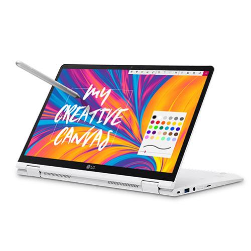 LG전자 그램 2in1 노트북 14T990-GA56K (i5-8265U 35.5cm 터치스크린), 512GB, 8GB, WIN10 Home