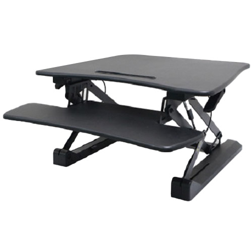 카멜마운트 프리미엄 스탠딩 높이조절책상 스탠워크 PSW-VS, 블랙