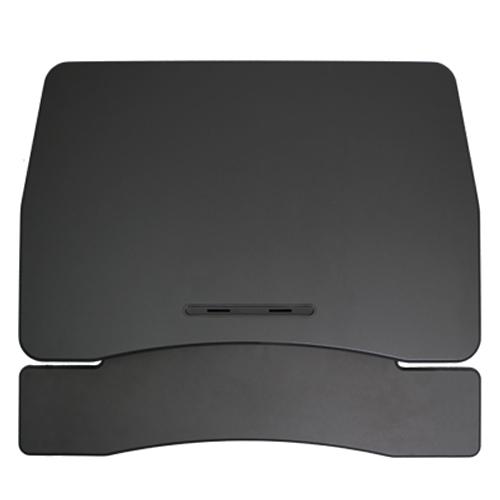 카멜마운트 프리미엄 스탠딩 높이조절책상 스탠워크 PSW-V, 블랙