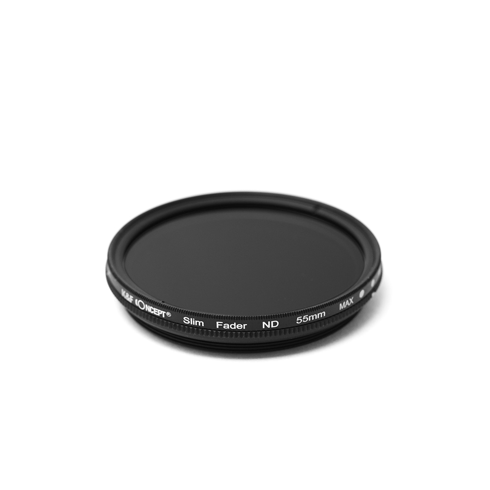 K&FCONCEPT Slim 가변ND필터 55mm, ND2-400 JAPAN OPTICS