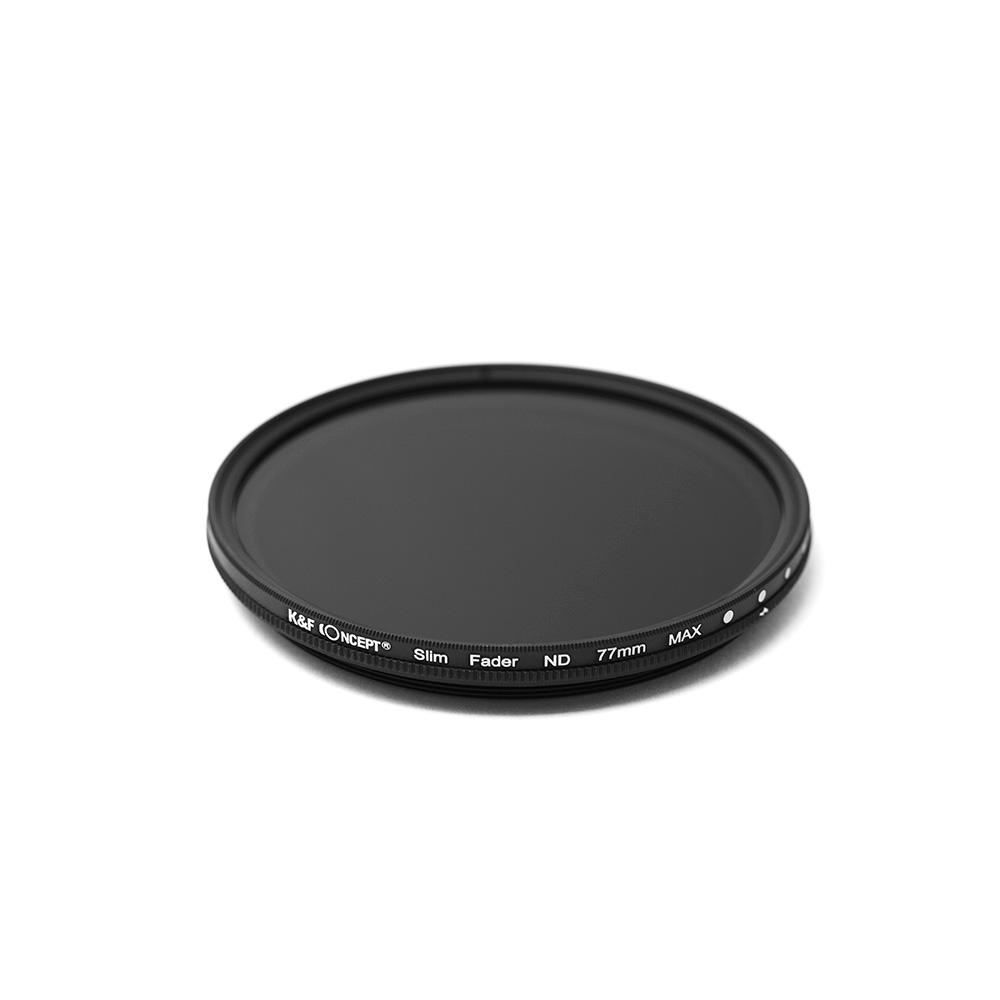 K&FCONCEPT Slim 가변ND필터 77mm, ND2-400 JAPAN OPTICS