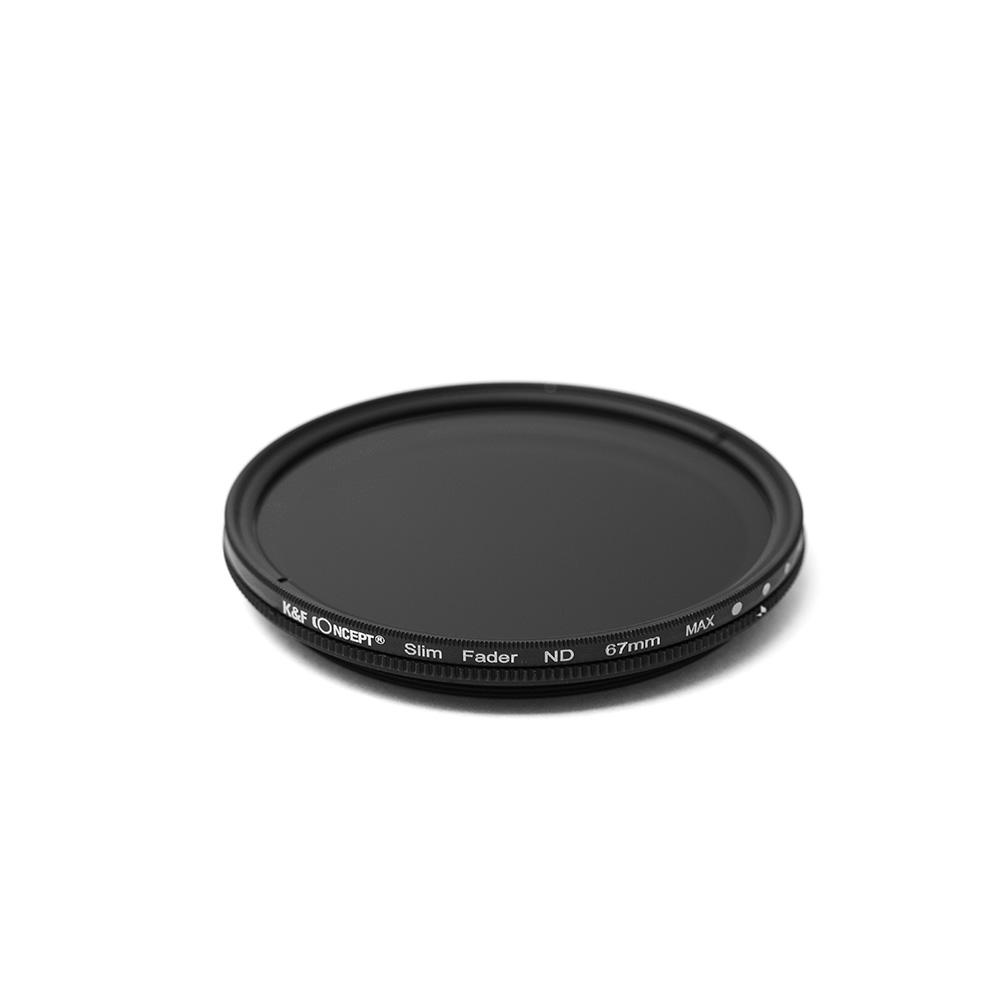 K&FCONCEPT Slim 가변ND필터 67mm, ND2-400 JAPAN OPTICS