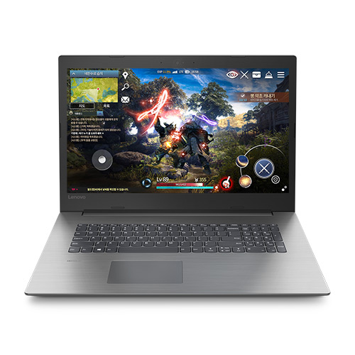 레노버 게이밍노트북 330-17ICH i5 81FL006KKR (8세대 i5 43.94cm WIN미포함 8GB 1TB GTX1050), 오닉스 블랙
