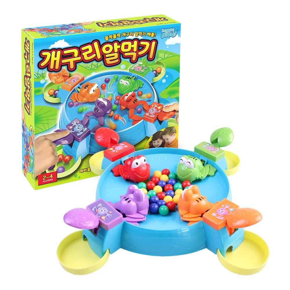 해피플레이 개구리 알먹기 보드게임, 혼합 색상