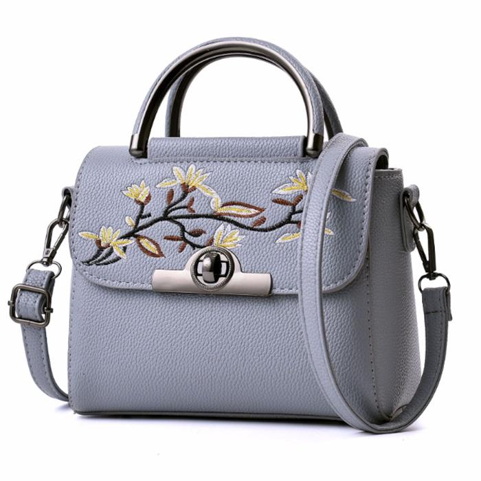 지이피 꽃자수 아도흘르 패션 가방