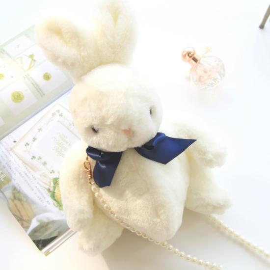 지이피 토끼 인형 가방