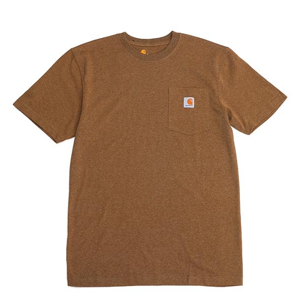 칼하트 남성용 워크웨어 포켓 티셔츠 K87