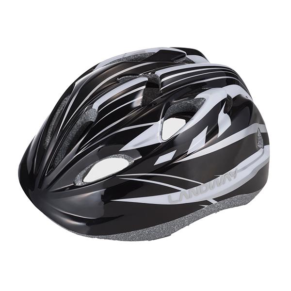 랜드웨이 뉴주니어 아동용 헬멧, 블랙