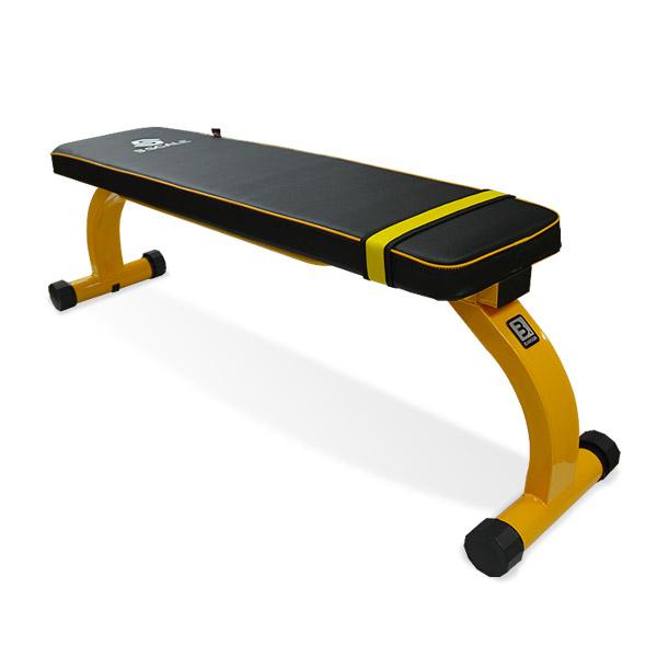 반석스포츠 스케일 그랜드 평벤치, 옐로우 + 블랙