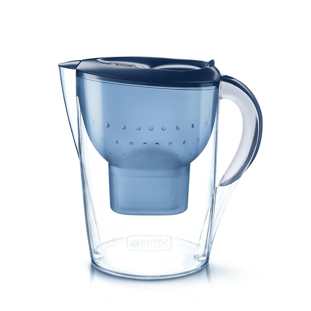 브리타 마렐라 쿨 정수기 블루 2.4L 자가설치