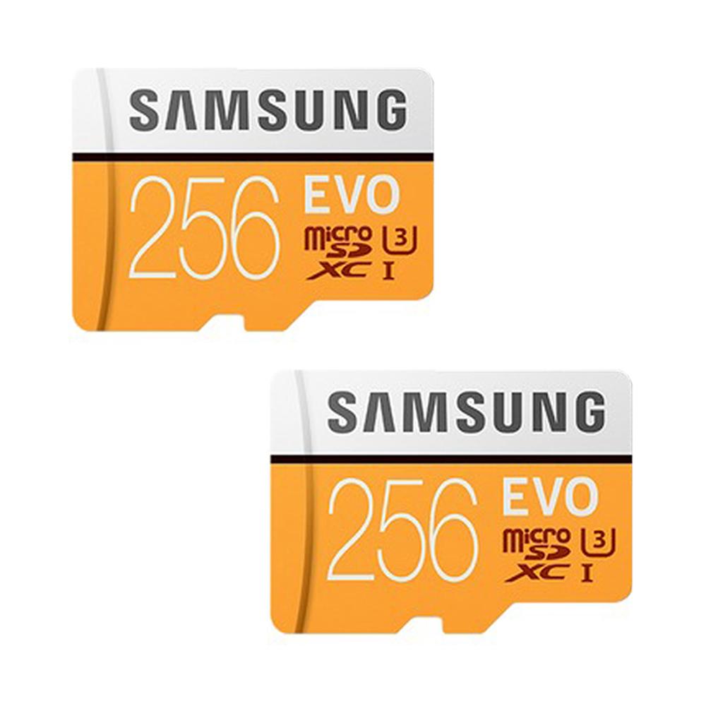 삼성전자 마이크로 SD 메모리카드 EVO MP256GB 2p + SD어댑터, 256GB