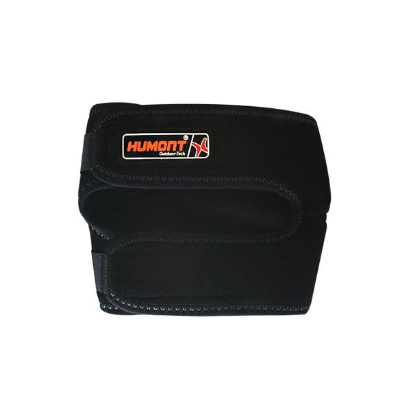휴몬트 무릎보호대 고급형 오른쪽 + 파우치, 블랙