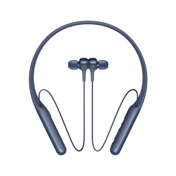 소니 넥밴드 타입 노이즈캔슬링 블루투스 무선 이어폰, WI-C600N, 블루
