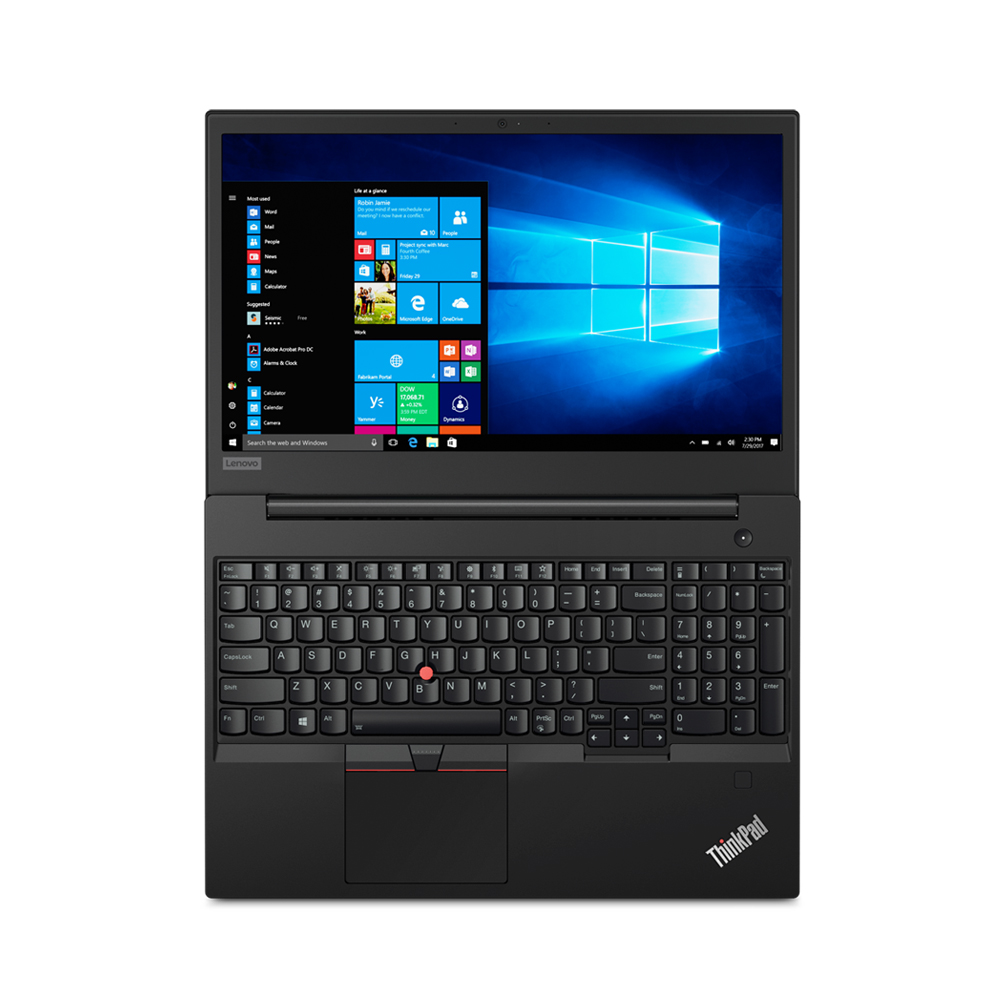 레노버 노트북 ThinkPad E590 20NB004AKR (i3-8145U 39.6cm), 128GB, 8GB, WIN10 Home, black