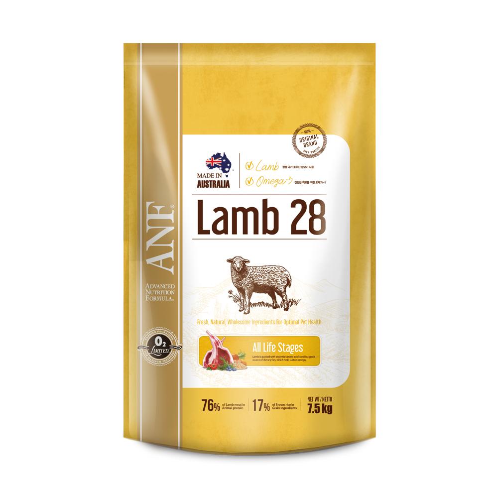 ANF 전연령 램28 강아지 사료, 7.5kg, 1개