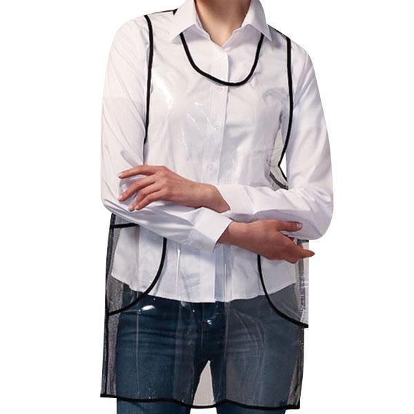 요들 투명 포켓 앞치마 YABAU0057