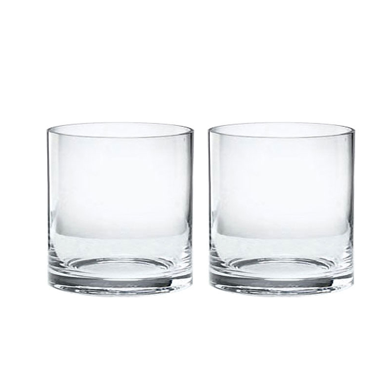 삼호유리 글라스코 원형화병 2p, 투명