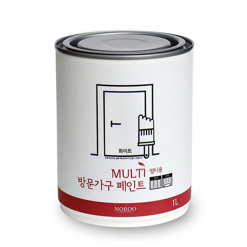 노루페인트 방문가구용 페인트 1L, 화이트
