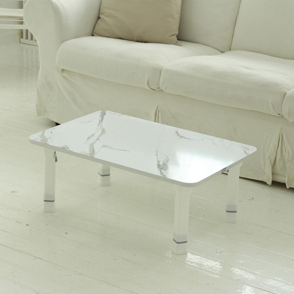 트리팜 LPM 높이조절 접이식 테이블 대 720, 마블