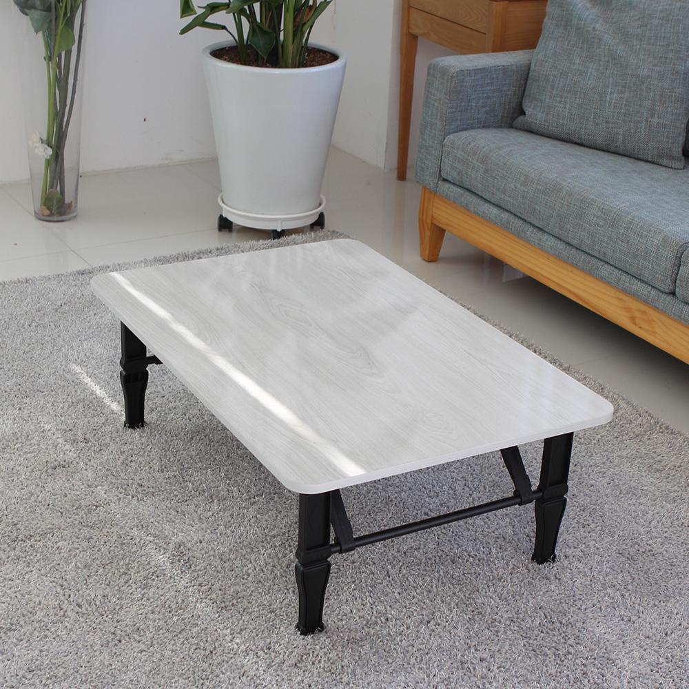 트리팜 LPM 튼튼 쌍발 접이식 테이블 특대형 900, 화이트오크