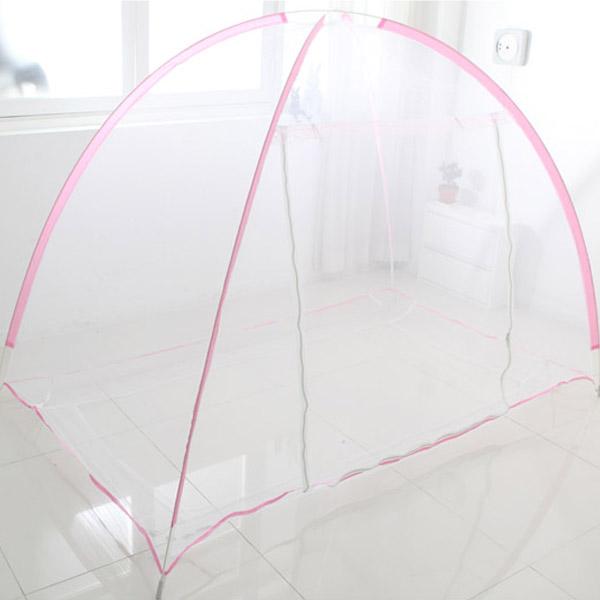 수지매트 원터치모기장, 핑크