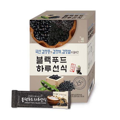 엄마사랑 스틱형 블랙푸드 하루선식 가루, 20g, 40개입