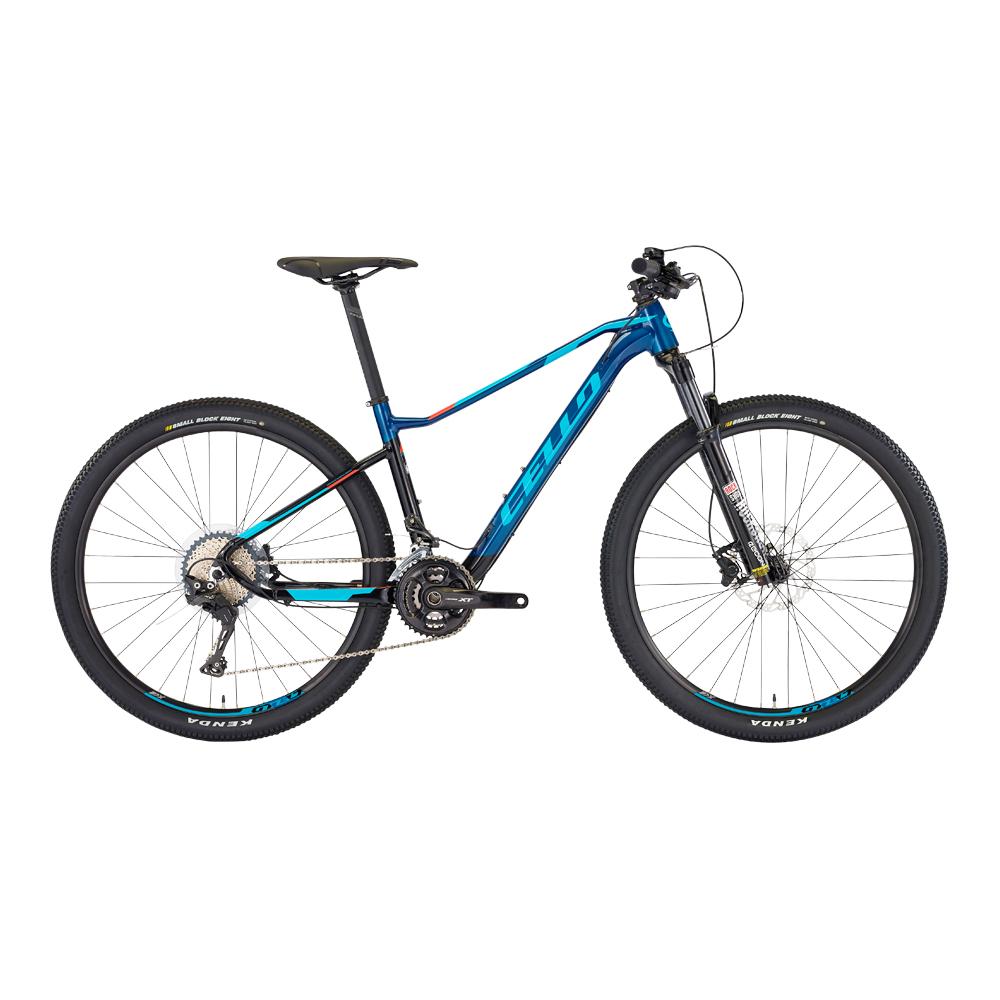 삼천리자전거 첼로 XC C 30 33단 MTB 자전거 인디고  블랙