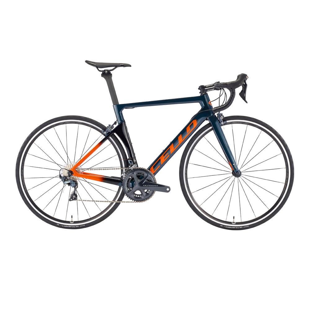 삼천리자전거 첼로 엘리엇 C S8 RC 22단 700C 카본로드 자전거, 블루그레이 + 블랙