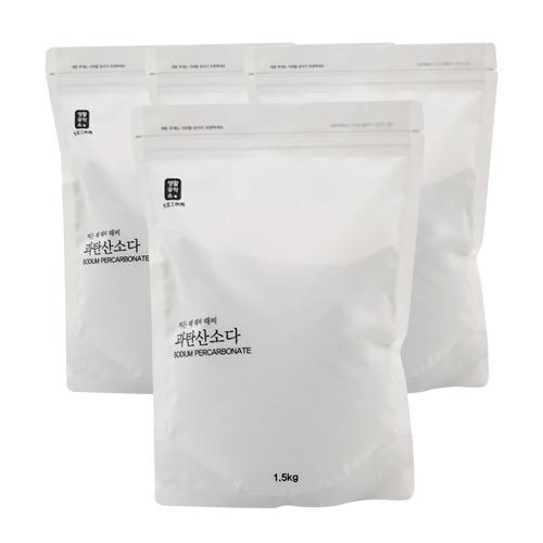 생활공작소 과탄산소다, 1.5kg, 4개입