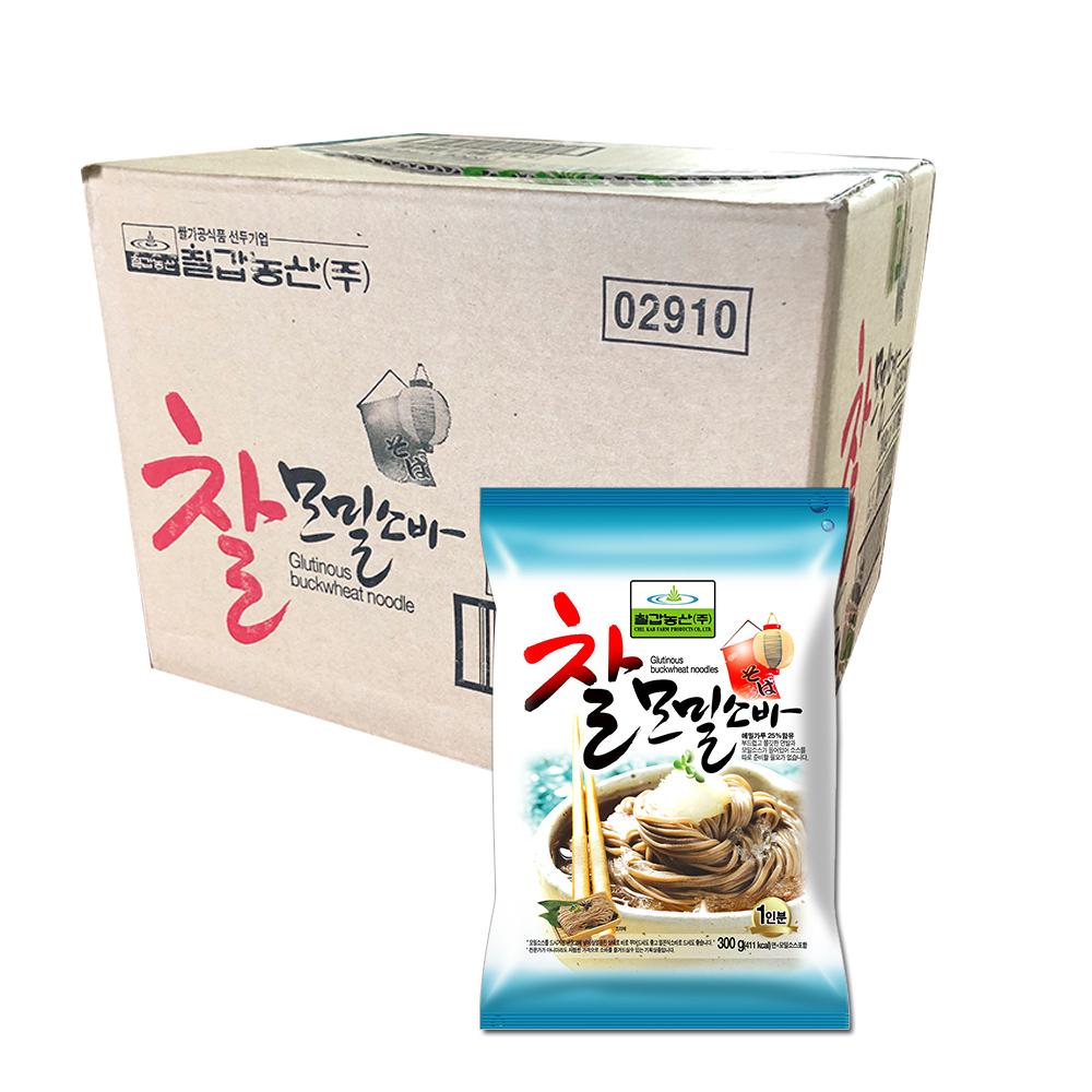 칠갑농산 찰모밀소바, 300g, 10개입
