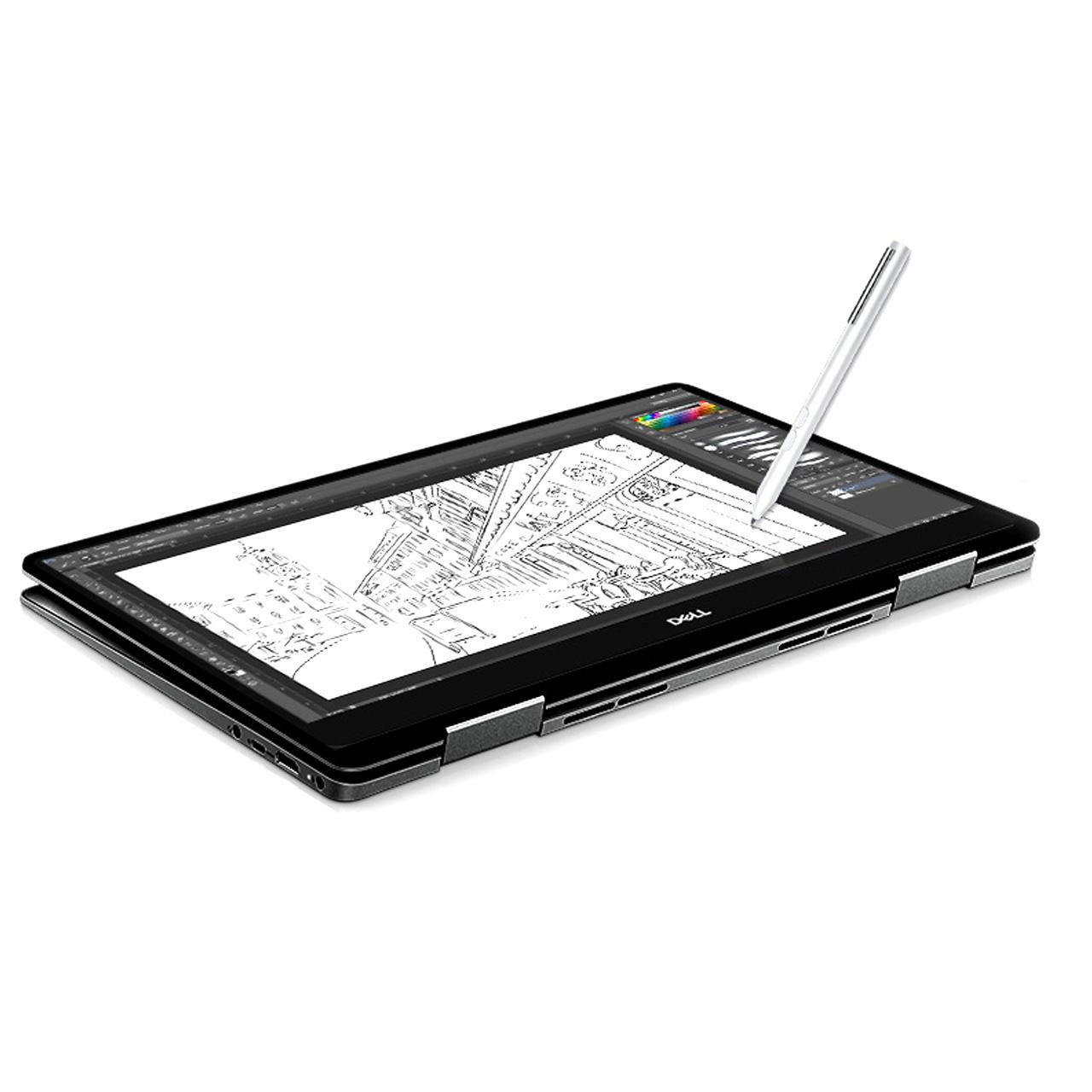 델 노트북 INSPIRON 15 7586 2in1 노트북 D005I7586503KR (i7-8565U 39.62cm WIN10 16GB SSD 512G), 혼합 색상