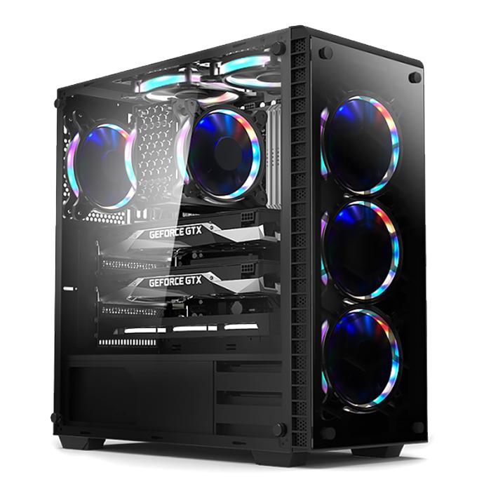 컴맹닷컴 CMA27XC-278H (라이젠7 2700X RAM16GB RTX2070 8GB SSD 240GB Win10Home), 기본형