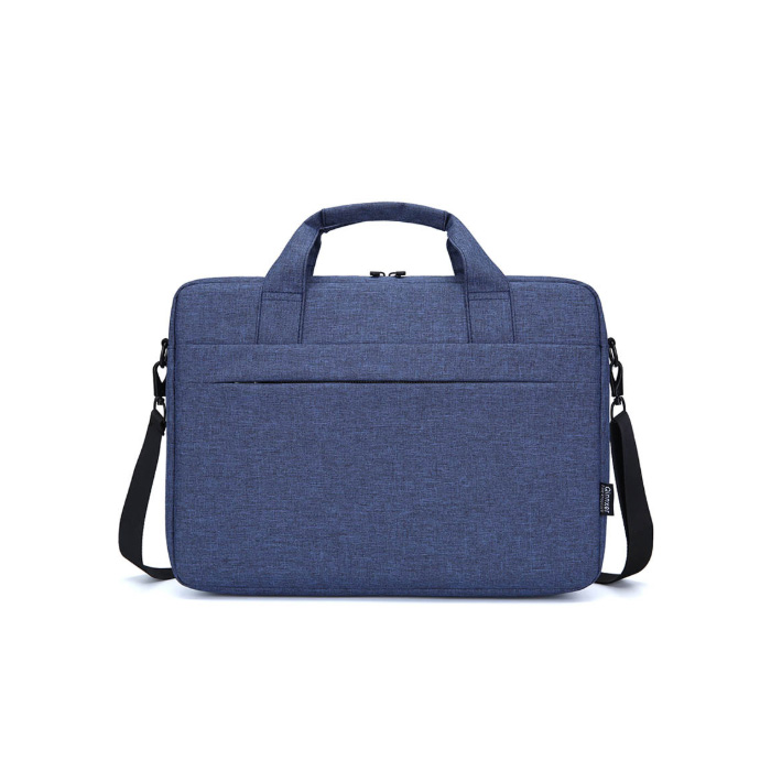 윰플 블랙크로스 노트북가방, 블루