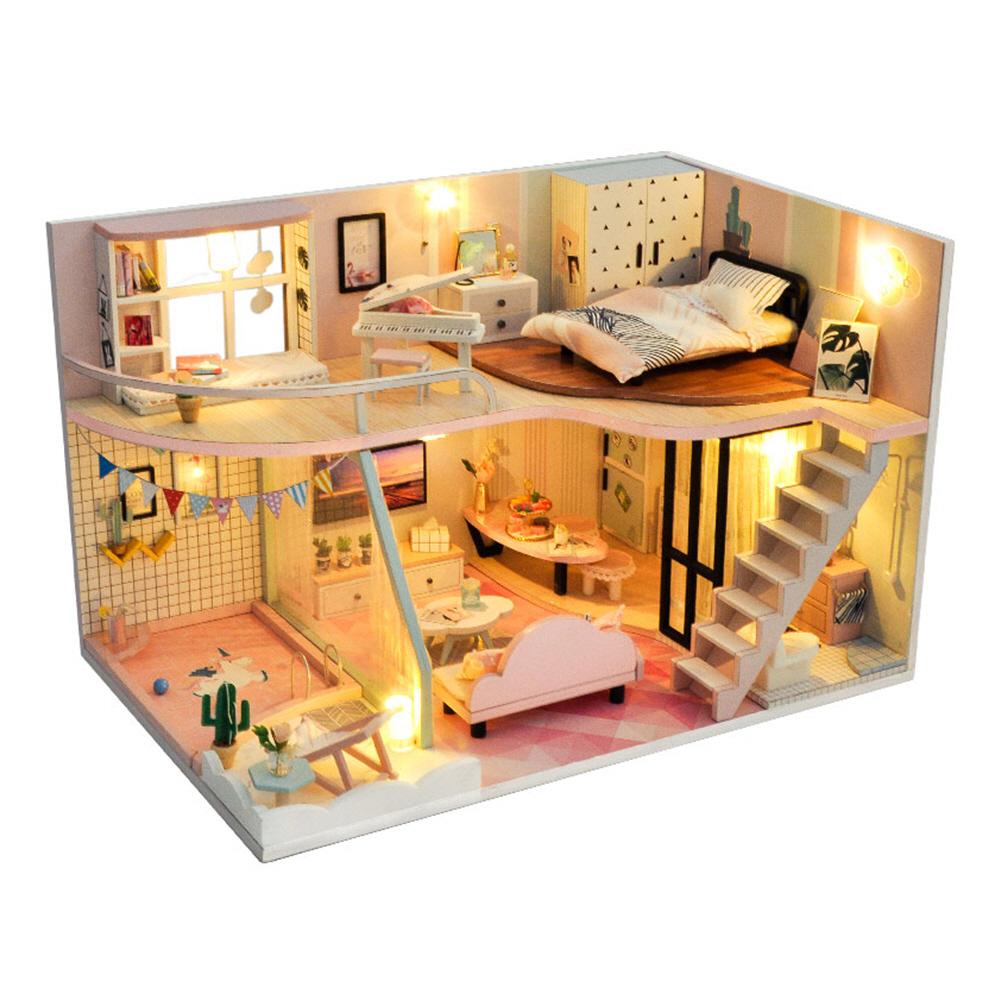 ADICO DIY 미니어처 하우스 키트, 핑크 메모리