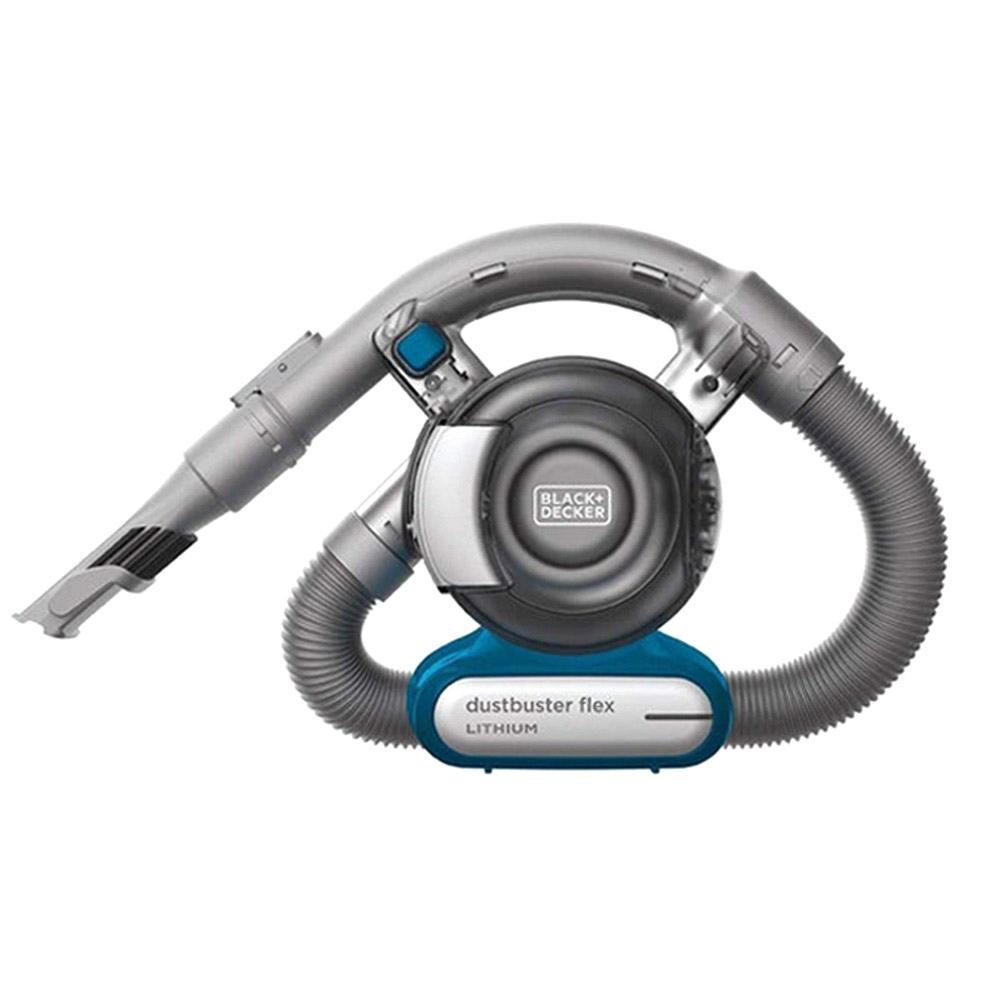 블랙앤데커 플렉시블 코끼리코 무선 핸디형 청소기 PDB315JB, 블루